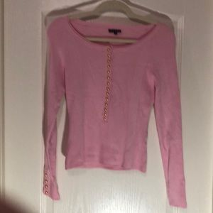 YUKA SZ T1. SZ SMALL PINK TOP LONG SLEEVES❤️❤️❤️